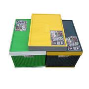 一唯 多功能折叠车用置物箱 家用整理箱 收纳箱 储物盒 65L 大容量