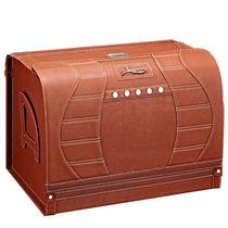 安程 Anjuny 汽车收纳箱系列 悠享B款 车用收纳箱 棕色产品图片主图