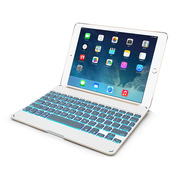 多彩 多彩(DeLUX)小i Air无线蓝牙键盘 iPad Air专用 土豪金
