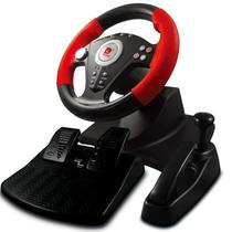 迪龙 PUPT808 USB支持电脑 PS3游戏赛车方向盘带油门脚踏和手刹 P3 808支持电脑+PS3产品图片主图