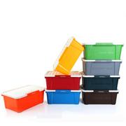 亿高 环保车载后备箱 储物箱 收纳箱 整理箱 家居车用 豌豆绿小号