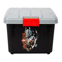 变形金刚 汽车家用收纳箱车载整理箱后备箱置物箱储物箱 黑色小号产品图片主图