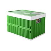亿高 汽车后备箱储物箱 车载整理箱收纳箱 车用可折叠工具箱 700系列 豌豆绿