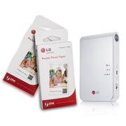 LG 趣拍得 相片打印机优惠套装(5盒可粘贴相纸+PD239W相印机)