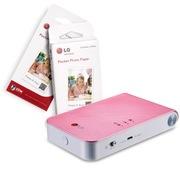 LG 趣拍得 相片打印机优惠套装(5盒可粘贴相纸+PD239P相印机)