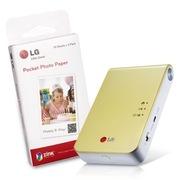 LG 趣拍得 相片打印机优惠套装(5盒可粘贴相纸+PD239Y相印机)