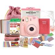 富士 趣奇(checky)instax mini8相机 (粉色)特惠套餐