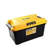 亿高 汽车后备箱储物箱整 车载整理箱收纳箱 双层5合1多功能工具箱 EK-683 炫酷黑