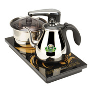 新功(SEKO) 电水壶不锈钢 全自动上水电热水壶 茶具套装电茶壶茶炉 烧水壶电泡茶壶 F90