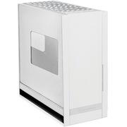 银欣 FT05S-W 堡垒5 银色侧透版机箱(全铝面板/垂直风道/带18公分穿甲弹风扇/支持水冷)