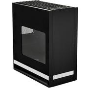 银欣 FT05B-W 堡垒5 黑色侧透版机箱(全铝面板/垂直风道/带18公分穿甲弹风扇/支持水冷)