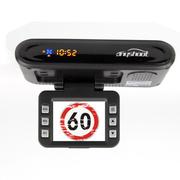 安视得 S8高清版行车记录仪电子狗  高清夜视广角 流动固定测速 多功能安全预警仪一体机
