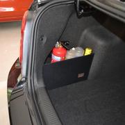 车翼 雪佛兰科鲁兹改装专用后备箱储物箱挡板整理箱收纳置物袋 掀背式挡板+配套后备箱垫