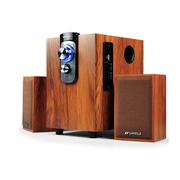 山水 Sansui/ GS-6000(12B)电脑音响 可插U盘 低音炮 木质多媒体电脑音箱 柚木色