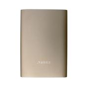 清华同方 移动电源T&F-75聚合物锂电池金色20000mAh充电宝定做LOGO礼品定制