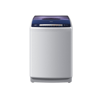 海尔 XQB85-TC1288S 8.5公斤波轮洗衣机(银灰)产品图片主图