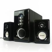 山水 Sansui/ GS-6000(81B)音响多媒体台式机电脑笔记本音箱低音炮 2.1 黑色 支持U盘