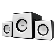 山水 SANSUI/ GS-6000(10D)多媒体电脑音箱 音响 2.1低音炮 音箱 黑白色