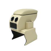 索菲尔 原装汽车扶手箱中央手扶箱免打孔改装专用 新品 优雅米 金刚