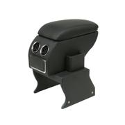 索菲尔 原装汽车扶手箱中央手扶箱免打孔改装专用 新品 时尚黑 老捷达