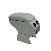 索菲尔 原装汽车扶手箱中央手扶箱免打孔改装专用 新品 绅士灰 丘比特