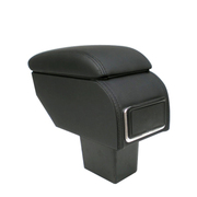 索菲尔 原装汽车扶手箱中央手扶箱免打孔改装专用 时尚黑 新之光 不带出风口