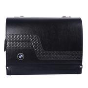 澳雅乐 汽车置物箱 汽车用品收纳箱 后备箱整理箱 进口带密码汽车拉杆箱 典雅黑 大众专用