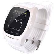 酷道 M6蓝牙手表智能手环手镯触屏通话穿戴手腕手表安卓手机伴侣计步器 白色