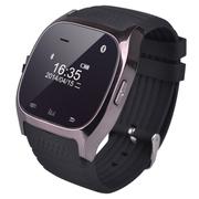 酷道 M6蓝牙手表智能手环手镯触屏通话穿戴手腕手表安卓手机伴侣计步器 黑色