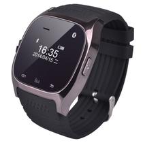 酷道 M6蓝牙手表智能手环手镯触屏通话穿戴手腕手表安卓手机伴侣计步器 黑色产品图片主图