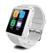 酷道 U8智能手环智能蓝牙手表高清触摸彩屏健康计步器防盗手机伴侣智能穿戴 白色防水版