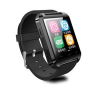 酷道 U8智能手环智能蓝牙手表高清触摸彩屏健康计步器防盗手机伴侣智能穿戴 黑色防水版