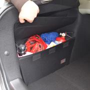 车翼 东风雪铁龙世嘉三厢储物箱两厢挡板改装专用后备箱储物收纳置物 三厢一对+配套后备箱垫全套