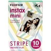 富士 instax mini胶片/相纸花边(彩色条纹)