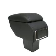 索菲尔 原装汽车扶手箱中央手扶箱免打孔改装专用 时尚黑 力帆320 不带出风口