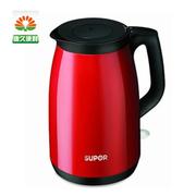 苏泊尔 电水壶 1.5L 双层保温电水壶 烧水壶SWF15V1-150