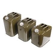 拓乐(TOULE) 便携式加油桶10升20升25升30升备用油箱立式汽油桶  柴油桶0.6mm 20升油桶(自带内置加油管)