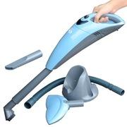 车志酷 CZK-6602 无线车载 海豚吸尘器 带电池及座充 无需电线 居家行车均可使用 蓝色