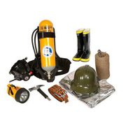 谋福 全套消防员装备 消防员安全装备设备 个人防护设备 8件套