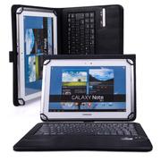 SEENDA 9寸10寸通用平板电脑蓝牙键盘保护套适用昂达 台电 酷比魔方 七彩虹 海尔 黑色
