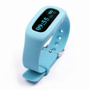 喜越 NZ001 智能手环 OLED屏幕蓝牙4.0手表 适用于苹果/安卓 浅蓝色