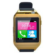 酷道 M13手机智能手表触摸屏蓝牙手环腕表手镯 穿戴设备可插SIM卡 测睡眠计步器免提通话 土豪金
