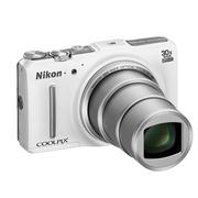 尼康 S9700s 数码相机 白色
