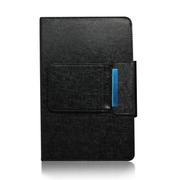 KNC 9~10英寸高级商务可拆卸蓝牙键盘皮套 可充电 金属底壳 苹果ipad mini键盘 黑色