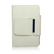 KNC 高级商务可拆卸蓝牙键盘皮套 7~8英寸通用 可充电 金属底壳 苹果ipad mini键盘 白色