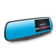 第一现场 第1现场D203 双镜头后视镜行车记录仪 170广角 1200W 1080P高清 4.3寸 标配-32G高速卡