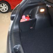 车翼 东风日产新骐达改装专用后备箱挡板储物收纳整理挡网 新骐达挡板一对+配套后备箱垫