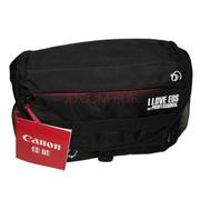 佳能 EOS大号相机包 单反相机单肩摄影包(可装一机两镜加配件) 黑色