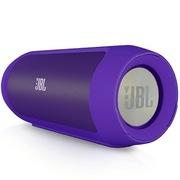 JBL Charge2 音乐冲击波升级版 可充当移动充电设备 震撼低音 紫色