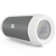 JBL Charge2 音乐冲击波升级版 可充当移动充电设备 震撼低音 白色